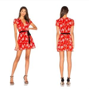 Lovers + Friends Cassidy floral mini dress